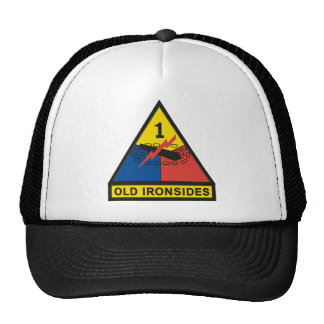1st Armored Division Mesh Hat