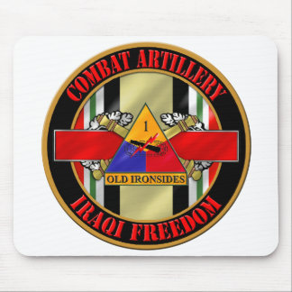 1st Armored Division Iraq Veteran Mouse Pad
