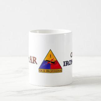 1st Armored Division Ironsides Coffee Mug
