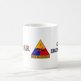 1st Armored Division Ironsides Mugs
