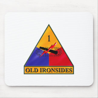 1st Armored Division Mouse Pad