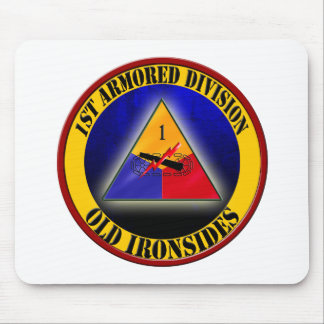 1st Armored Division Mousepads