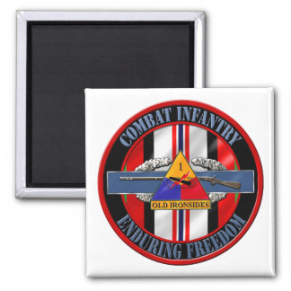 1st Armored Division OEF Veteran Magnets