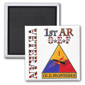 1st Armored Division OEF Veteran Refrigerator Magnets