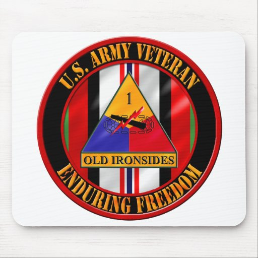 1st Armored Division OEF Veteran Mousepads