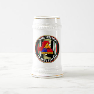 1st Armored Division OIF Beer Steins
