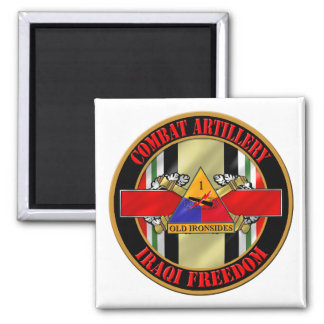 1st Armored Division OIF Veteran Refrigerator Magnets