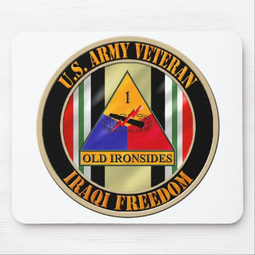 1st Armored Division OIF Veteran Mousepad