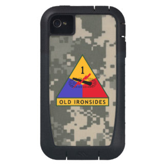 1st Armored Division Old Ironsides Digital Camo iPhone4 Case