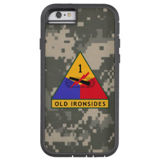 """1st Armored Division """"Old Ironsides"""" Digital Camo Tough Xtreme iPhone 6 Case"""