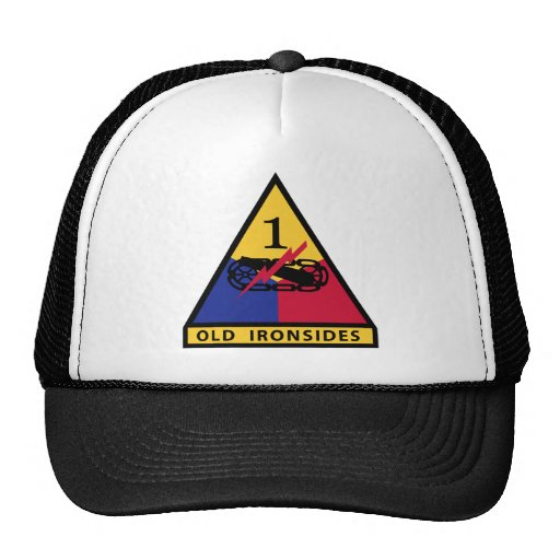 1st Armored Division - OLD IRONSIDES Hats