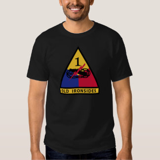 1st Armored Division - OLD IRONSIDES Tshirts