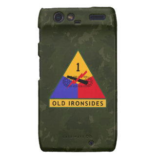 1st Armored Division Old Ironsides WW II Camo Razr Case