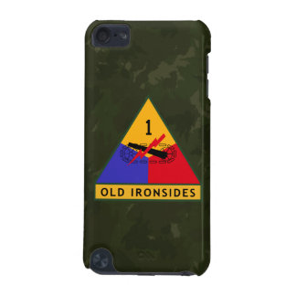 "1st Armored Division ""Old Ironsides"" WW II Camo iPod Touch 5G Case"