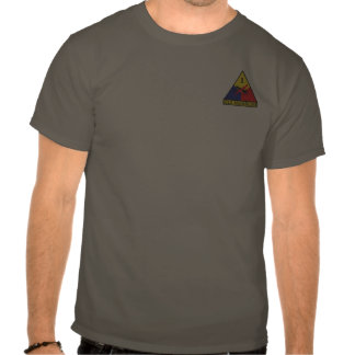 1st Armored Division SSI T-shirts