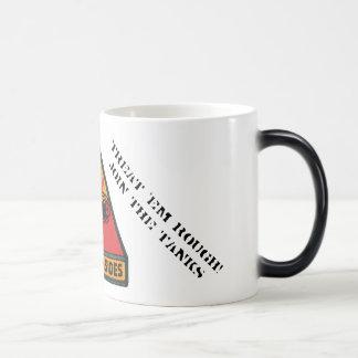 1st Armored Division Tanker mug