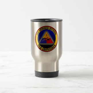 1st Armored Division Travel Mug