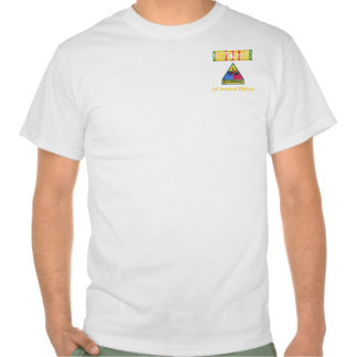 1st Armored Division Vietnam Veteran Shirt