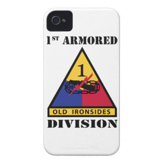 1st Armored Division W/Text Case-Mate iPhone 4 Cases