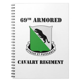 1st Armored Division W/Text Notebook