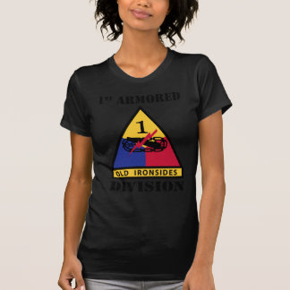 1st Armored Division W/Text Tshirts