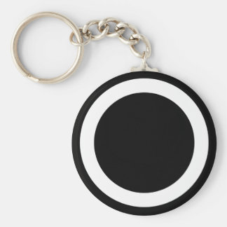1st Army Corps Basic Round Button Key Ring