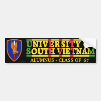 1st Aviation Bde - U of South Vietnam Sticker Bumper Stickers