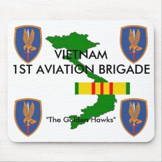 1st Aviation Brigade Vietnam Mousepad 1/w