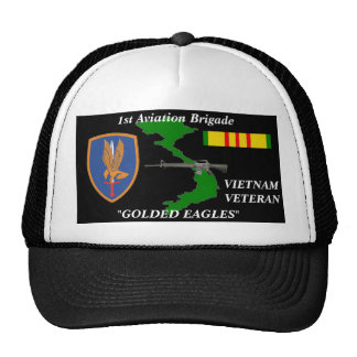 1St Aviation Brigade Vietnam Veteran Ball Caps Cap