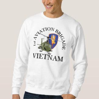 1st Avn Bde Vietnam Vet Huey Sweatshirt
