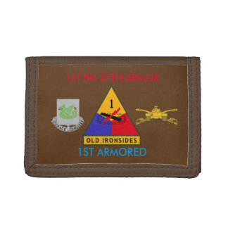 1ST BATTALION 37TH ARMOR 1ST ARMORED WALLET
