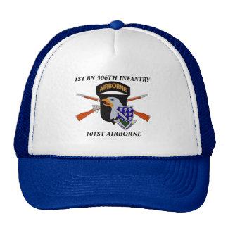 1ST BATTALION 506TH INFANTRY 101ST AIRBORNE HAT