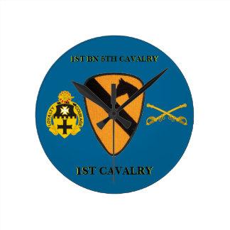 1ST BATTALION 5TH CAVALRY 1ST CAVALRY CLOCK