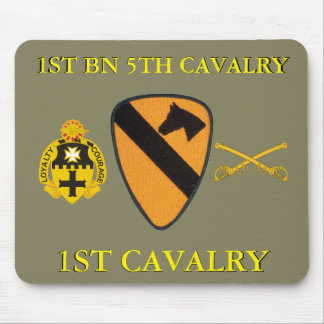 1ST BATTALION 5TH CAVALRY 1ST CAVALRY MOUSEPAD