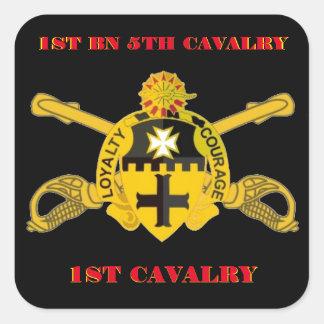 1ST BATTALION 5TH CAVALRY 1ST CAVALRY STICKERS