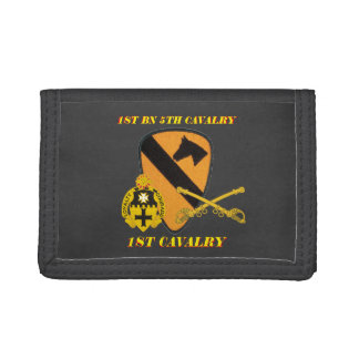 1ST BATTALION 5TH CAVALRY 1ST CAVALRY WALLET