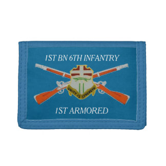 1ST BATTALION 6TH INFANTRY 1ST ARMORED WALLET