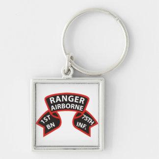 1st Battalion 75th Infantry Ranger A B Keychain