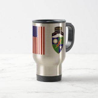 1st Battalion - 75th Ranger w/Tab Travel Mug