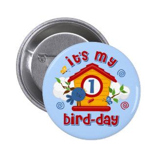 1st Bird Day Button