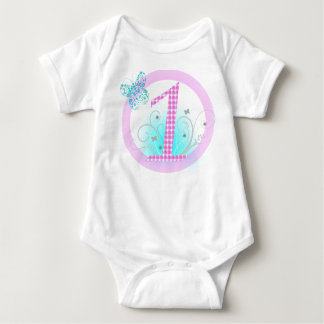 1st Birthday Baby Girl Baby Bodysuit