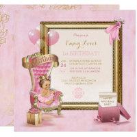 baby first birthday invite