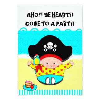 1st BIRTHDAY BOY 5x7 Paper Invitation Card