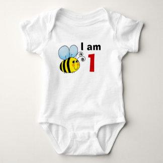 1st birthday bumble bee gift idea baby bodysuit