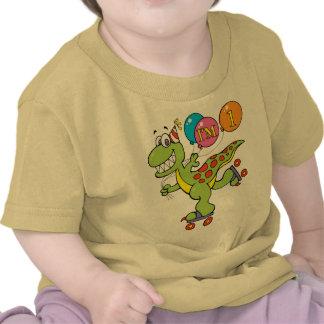 1st Birthday Dinosaur T-shirts