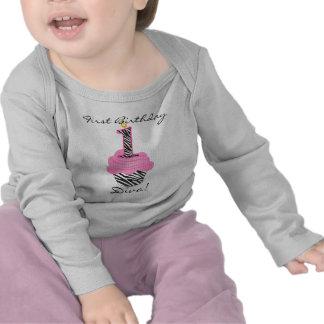 1st Birthday Diva Cupcake Tshirts