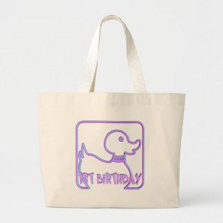 1st Birthday Duck Jumbo Tote Bag