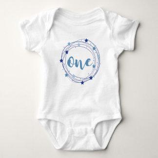 1st birthday for baby boy baby bodysuit