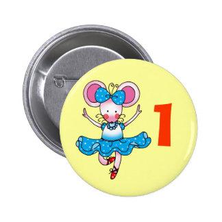 1st birthday gift for a girl, cute ballerina pins