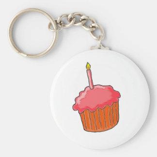 1st Birthday Girl Art Keychains